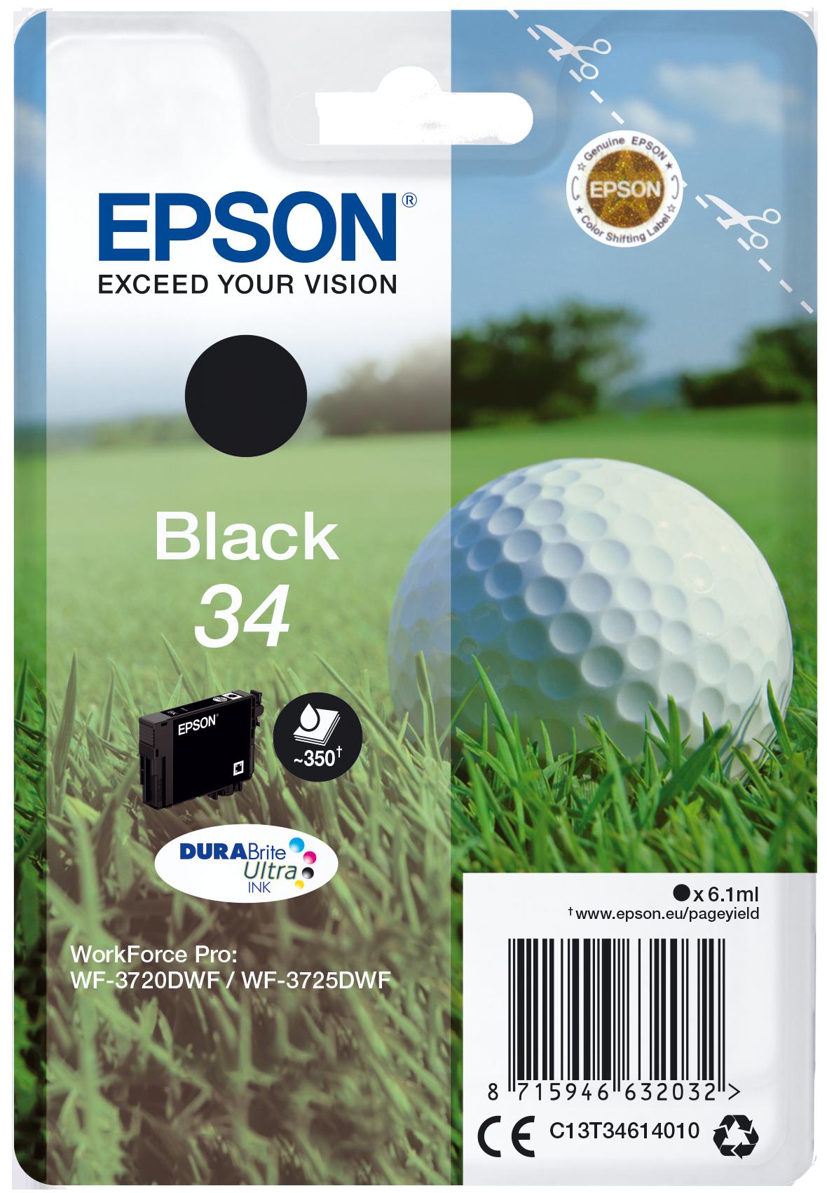 Comprar cartucho de tinta C13T34614010 de Epson online.