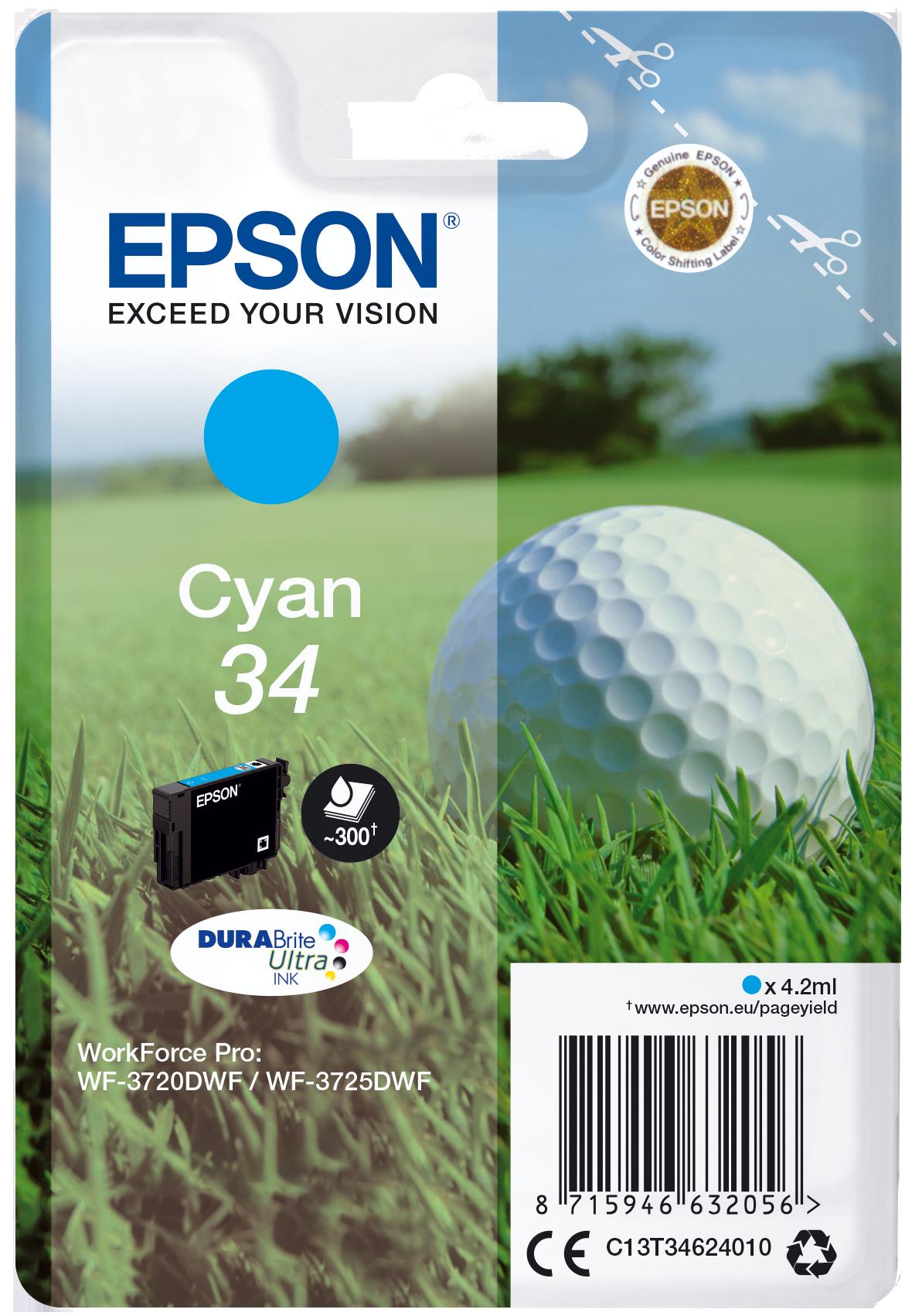 Comprar cartucho de tinta C13T34624010 de Epson online.