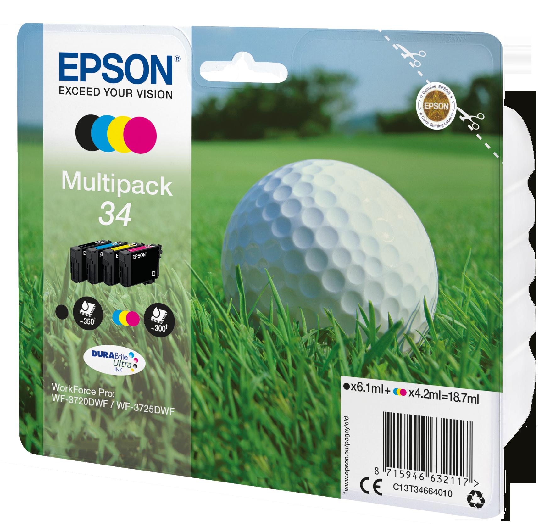 Comprar Cartucho de tinta C13T34664020 de Epson online.