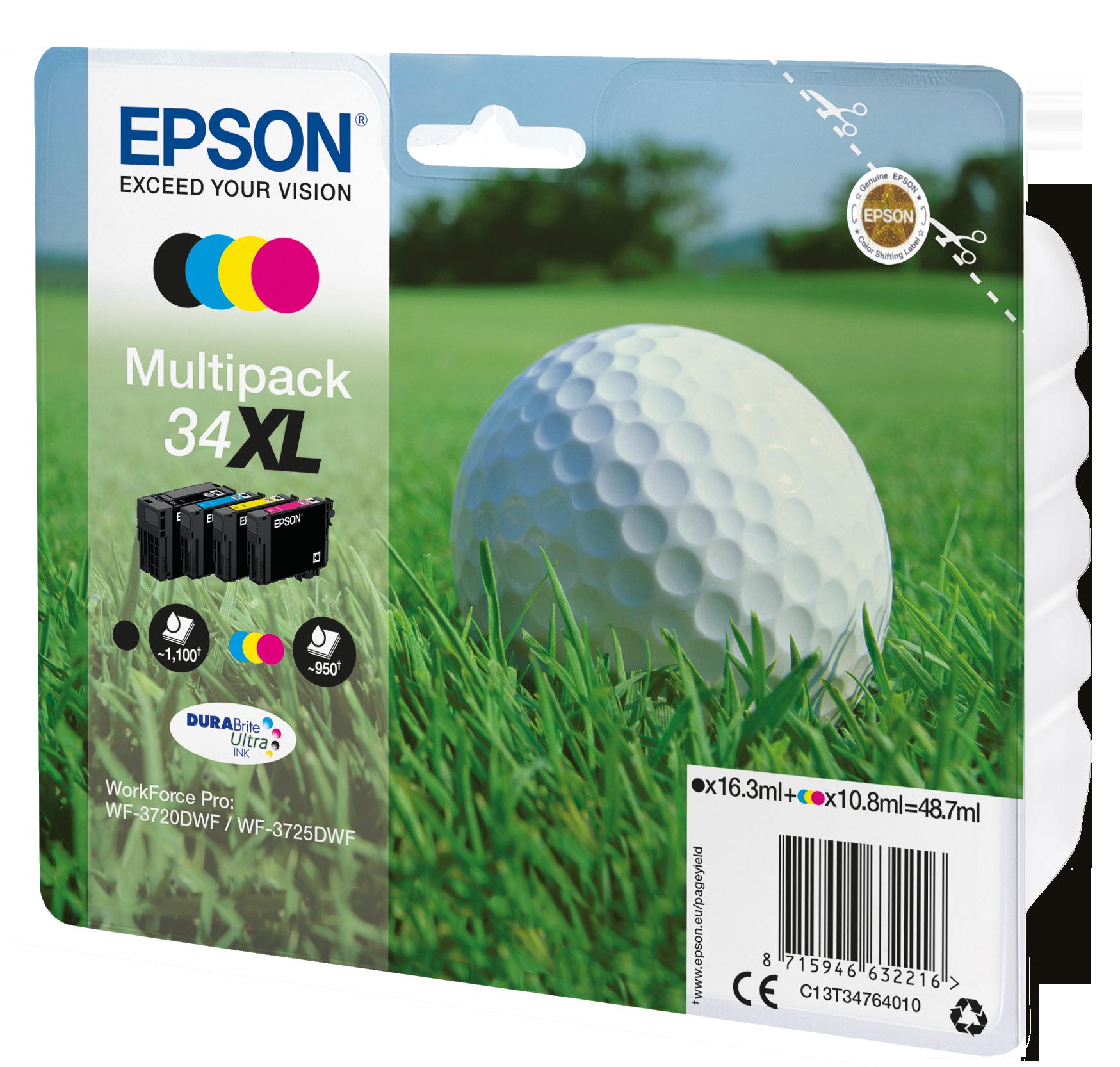 Comprar Cartucho de tinta C13T34764020 de Epson online.