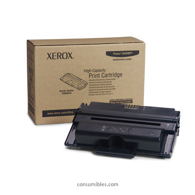 CARTUCHO DE TÓNER NEGRO XEROX-TEKTRONIX 108R795