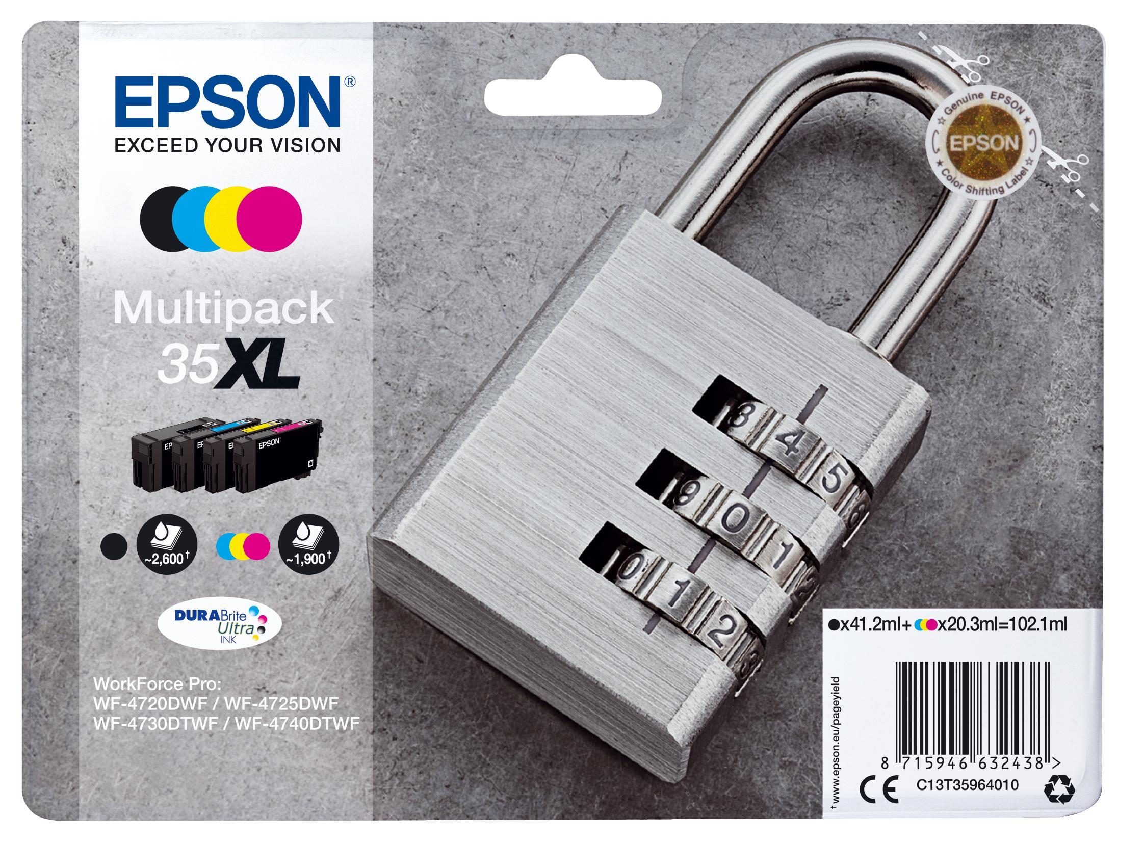 Comprar cartucho de tinta C13T35964010 de Epson online.