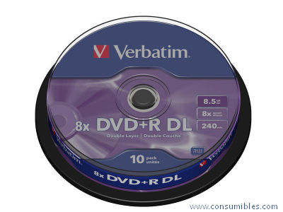 Comprar DVD+R 325223 de Verbatim online.