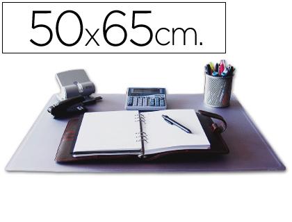 50 x 65 cm VADE SOBREMESA Q-CONNECT TRANSPARENTE -50X65 CM