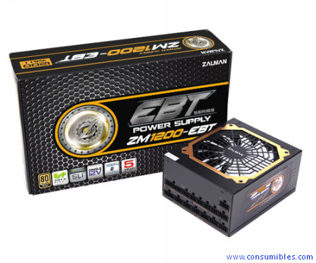 Comprar  ZM1200-EBT de Zalman online.