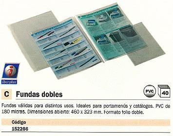 ENVASE DE 40 UNIDADES IBERPLAS FUNDAS 40 UD 460X323 MM 1039Q50