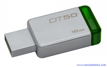 ALMACENAMIENTO COMPACTO USB KINGSTON TECHNOLOGY 16GB UNIDAD FLASH USB TIPO A 3.0 (3.1 Gen 1) VERDE-P