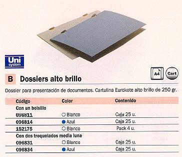 Comprar Dossiers Presentacion 096834 de Unisystem online.
