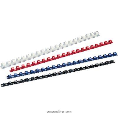 Canutillo de Plastico 5 ESTRELLAS CANUTILLOS 100UD NEGRO LOMO 12MM PLASTICO 330763