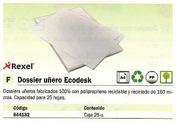5 STAR DOSSIER PAQUETE 25 UD A4 PVC CON CLIP 200702