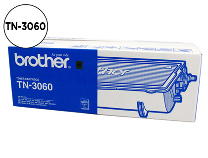 CARTUCHO DE TÓNER COMPATIBLE CON BROTHER NEGRO TN-3060 EQUIVALENTE A LA REFERENCIA ORIGINAL TN3060