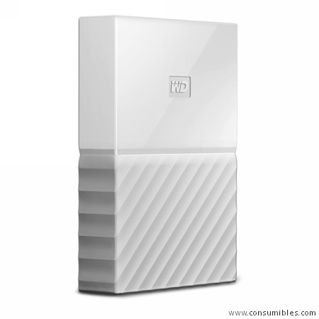 HD WD EXTERNO. 3TB WHITE 2.5