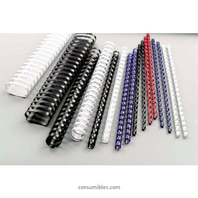 Canutillo de Plastico GBC CANUTILLOS COMBBIND 50 UD BLANCO LOMO 25MM 240 H A4 4028202