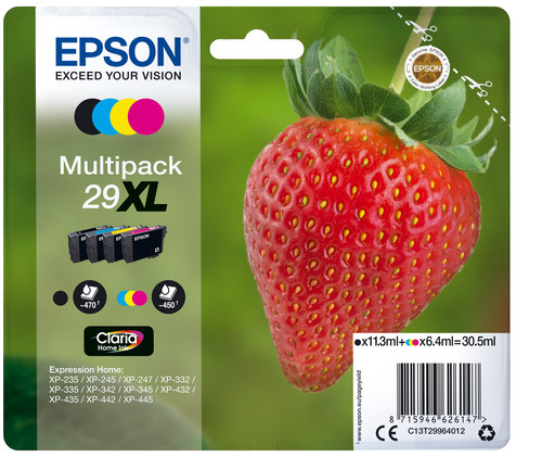 Comprar cartucho de tinta C13T29964012 de Epson online.