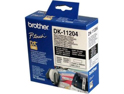 Etiquetas Multiproposito Papel 17X54 mm DK-11204