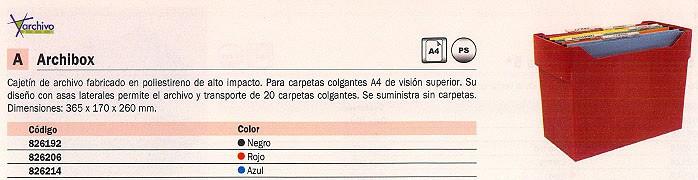 LEITZ CAJETIN CARPETAS COLGANTES NEGRO PARA 20 CARPETAS 2007NE