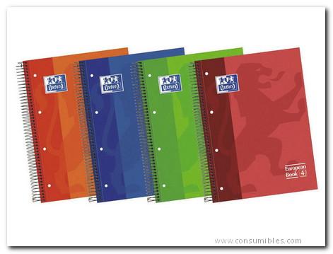 Comprar Cuadernos con espiral microperforados 341710 de Oxford online.