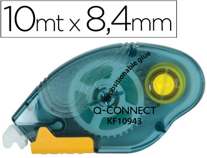 Pegamentos en barra ENVASE DE 12 UNIDADES PEGAMENTO Q-CONNECTROLLER COMPACT NO PERMANENTE -6,5 MM DE ANCHO X 10 MT -UNIDAD