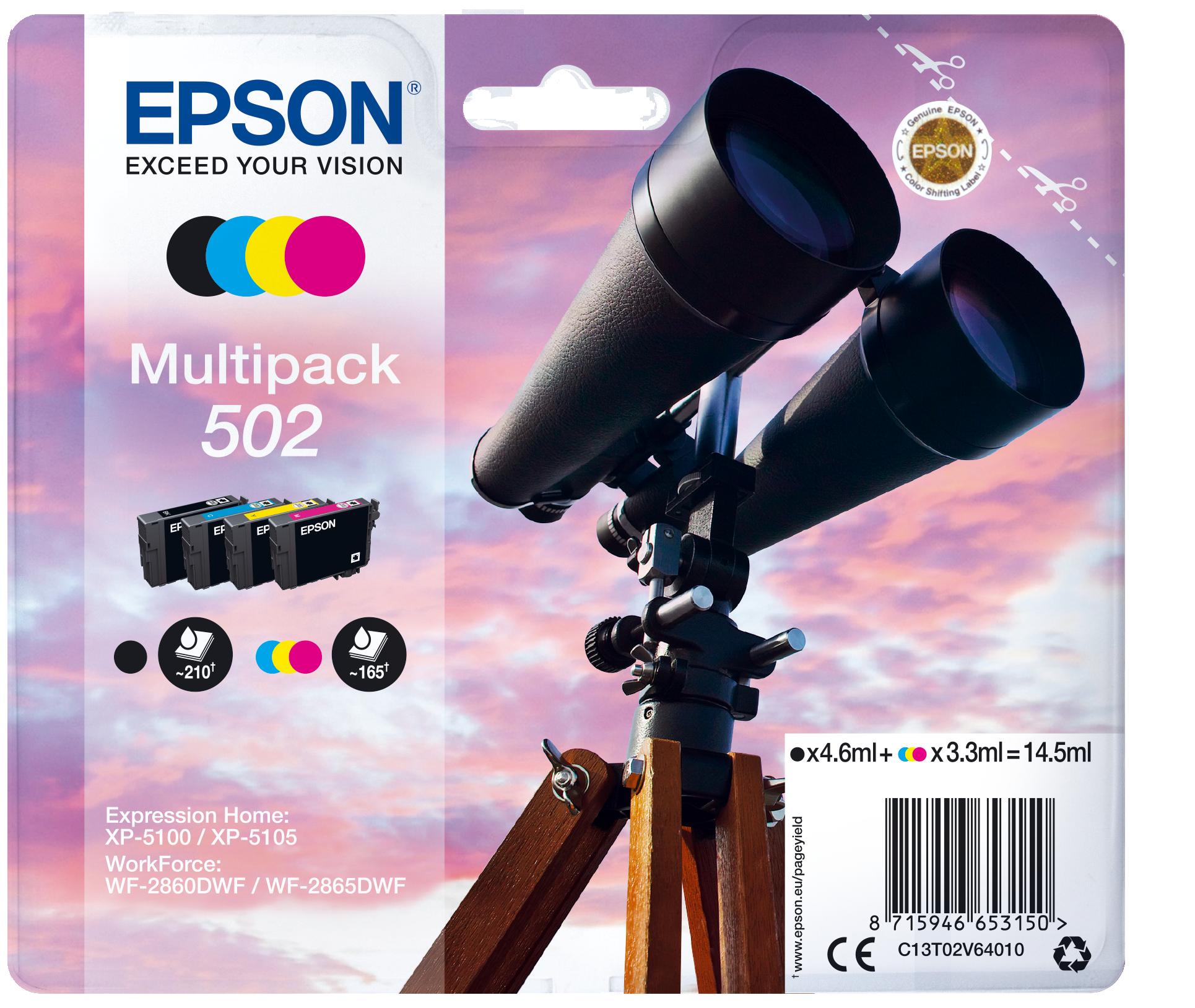 Comprar Cartucho de tinta C13T02V64020 de Epson online.