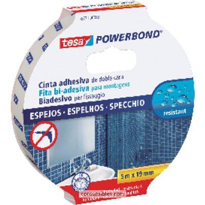 Cintas adhesivas TESA CINTA ADHESIVA DOBLE CARA DOBLE CARA 19MM X 5M 10 UD 55733-00018-02
