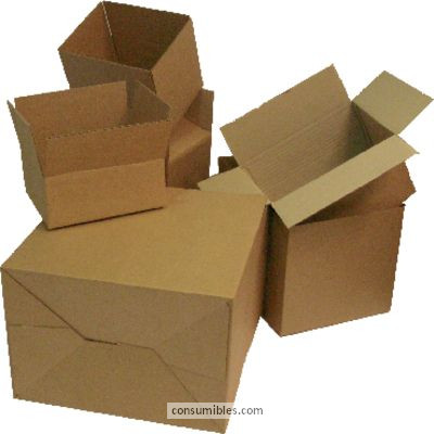 Cajas de embalaje ENVASE DE 10 UNIDADES 5 ESTRELLAS CAJA AUTO-MONTABLE 217X172X110 345810