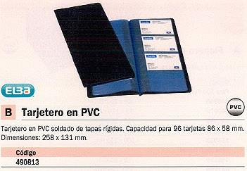ELBA TARJETERO 258X131 PARA 96 TARJETAS PVC 100206512