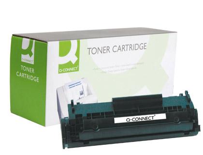 Cartucho de toner TÓNER Q-CONNECT COMPATIBLE HP-1010 Q2612XL/Q2612A -3.000 PAG-