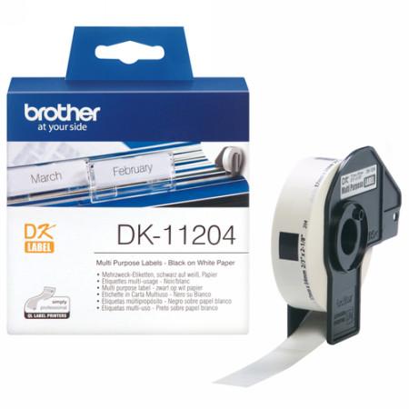 Comprar Etiquetas precortadas DK11204 de Brother online.