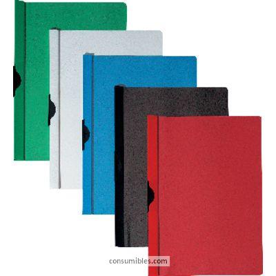 Dossiers con clip 5 ESTRELLAS DOSSIERS CLIP CAPACIDAD 60 HOJAS A4 AZUL PVC 356416