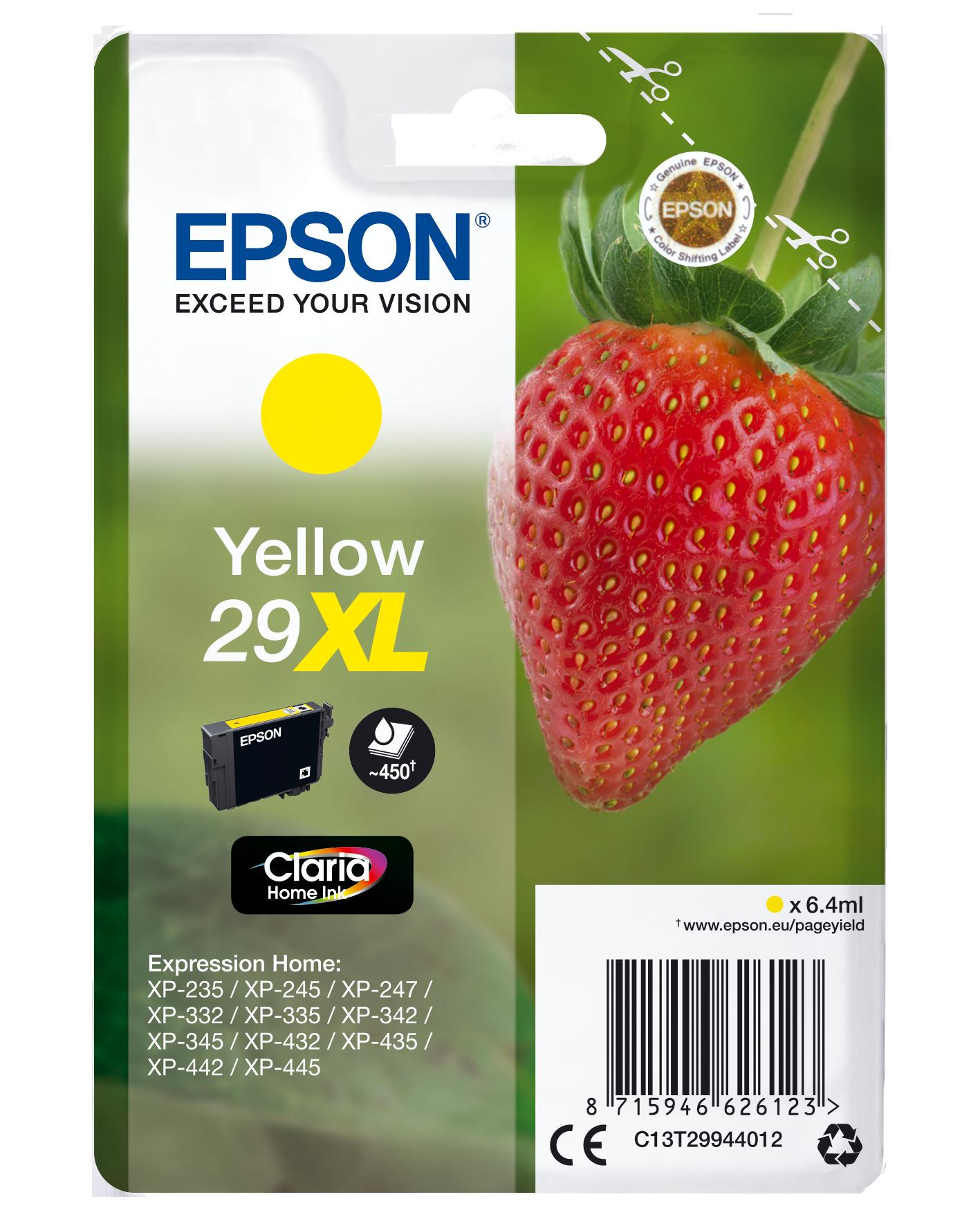 Comprar Cartucho de tinta C13T29944022 de Epson online.
