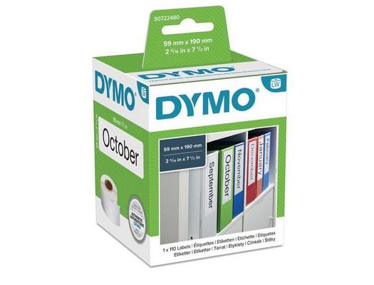 DYMO ETIQUETA 110 UD 59X190 MM BLANCO-PAPEL S0722480