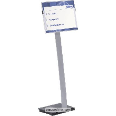 DURABLE EXPOSITOR METÁLICO INFO SIGN STAND A3 ALTURA MAX. 125CM 4813-23