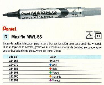 PIZARRA MAXIFLO MWL 5S GRIS MWL5S V