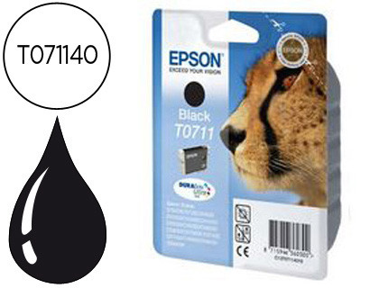 CARTUCHO NEGRO EPSON T0711