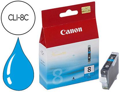 Cartucho de Tinta Cian Canon CLI-8C 13 ml