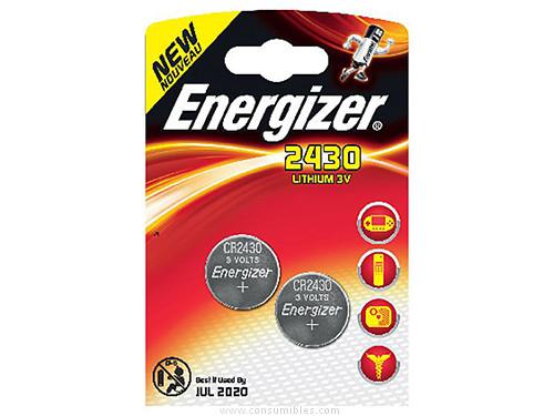 ENERGIZER PILA ALCALINA ULTRA PLUS BLISTER 2UD CR2430/AAAA 1.55V 637991