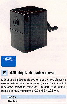 CARL AFILALÁPIZ SOBREMESA CON RECIPIENTE 9.7X6,8X10,5 CM CP 80