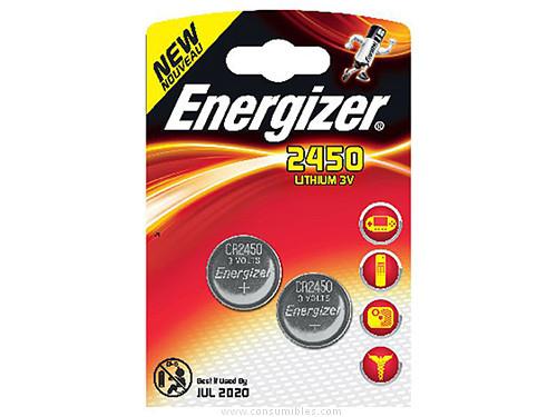 ENERGIZER PILA BOTÓN BLISTER 2UD CR2450/C 3V 638179