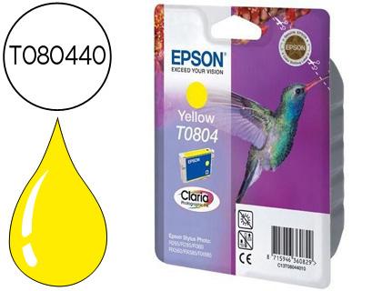 CARTUCHO DE TINTA AMARILLO EPSON T0804