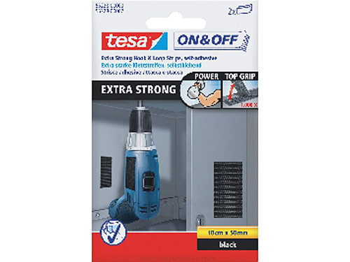 Adhesivos TESA ADHESIVO ON&OFF 50MMX100XMM EXTRA FUERTE 55228-00002-02
