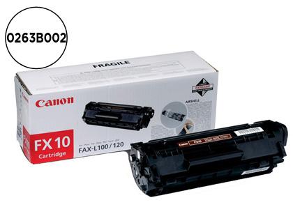 CARTUCHO DE TÓNER NEGRO CANON FX-10 2000 PÁGINAS