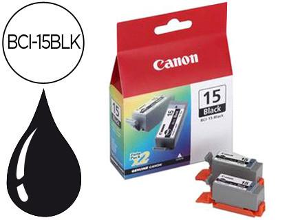 INK-JET CANON I70/80 IP90 DEPOSITO TINTA NEGRA -PACK 2- BCI-15BLK