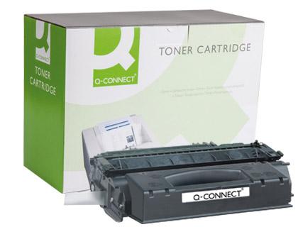 Cartucho de toner TÓNER Q-CONNECT COMPATIBLE HP 1320/3390/3392 NEGRO Q5949X -6.000PAG-