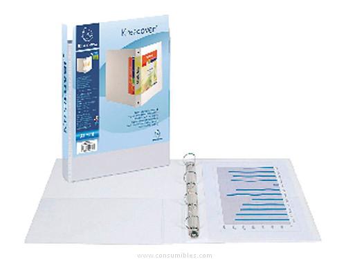 Comprar Carpetas anillas personalizables 389505 de Exacompta online.