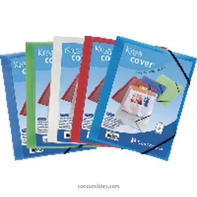 Comprar Carpetas con gomas polipropileno 389767(1/25) de Exacompta online.