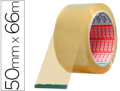 Embalaje ENVASE DE 6 UNIDADES CINTA ADHESIVA TESA TRANSPARENTE 66 MT X 50 MM -PARA EMBALAJE