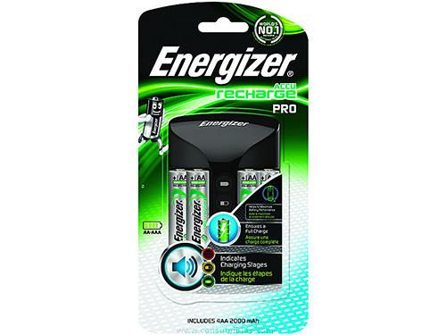 Pilas ENERGIZER CARGADORES DE PILAS INTELIGENT CHARGER AA/AAA 4 PILAS ALIMENTACIÓN RED 639837