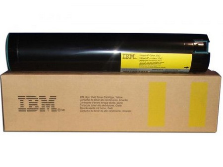 CARTUCHO DE TONER AMARILLO IBM TYPE-4957