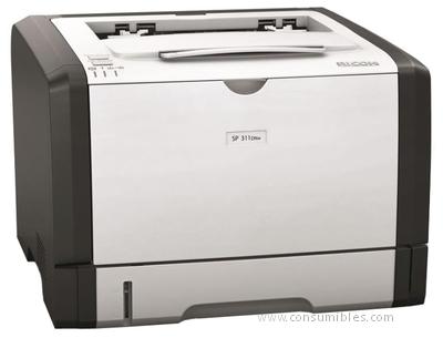 Impresoras láser o led IMPRESORA LASER MONOCROMO AFICIO SP 311DNW