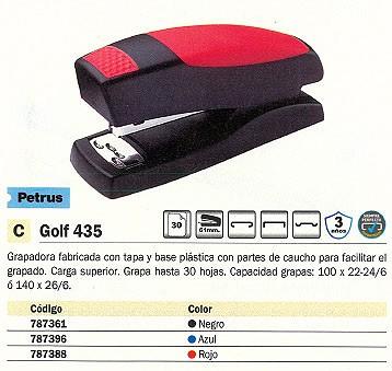 PETRUS GRAPADORA GOLF 435 30 HOJAS AZUL 44815